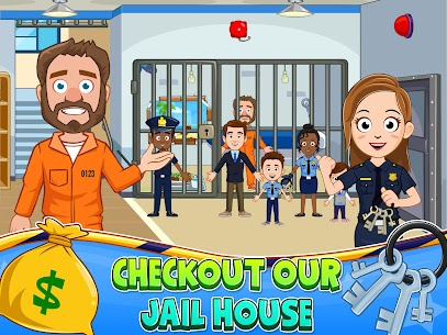 My Town : Police Station Pretend games for Kids 10