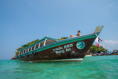 4 Island Tour by Big Longtail Boat from Krabi