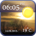 Cool Clock and Weather Widget icon