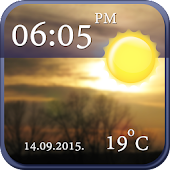 Cool Clock and Weather Widget