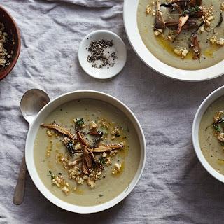Oyster Mushroom Soup Recipes.