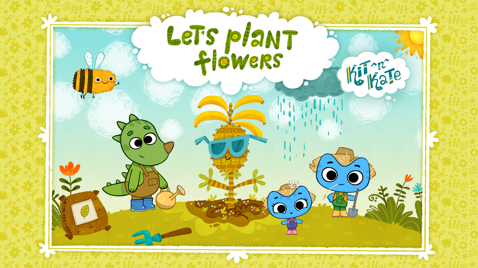 Kit^n^Kate Let's Plant Flowers- screenshot