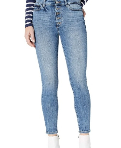 DL1961 Women's Farrow Instasculpt High Rise Skinny Fit Ankle Jean