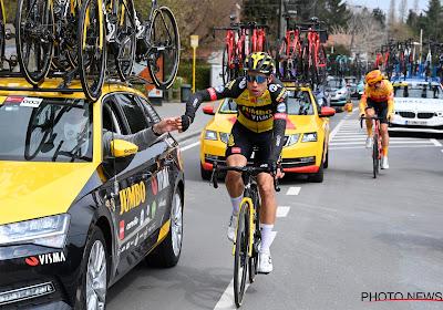 """Wout van Aert moet doelen bijstellen na blindedarmontsteking: """"Gele trui in Tour de France is niet meer realistisch"""""""