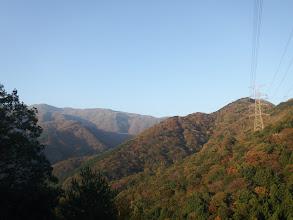 左奥に御池岳