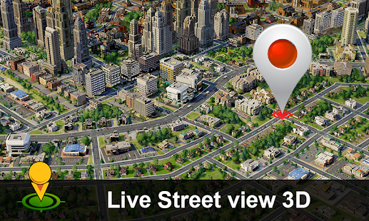 Street View Live Map Satellite Earth Navigation Android Apps - Google 3d satellite map