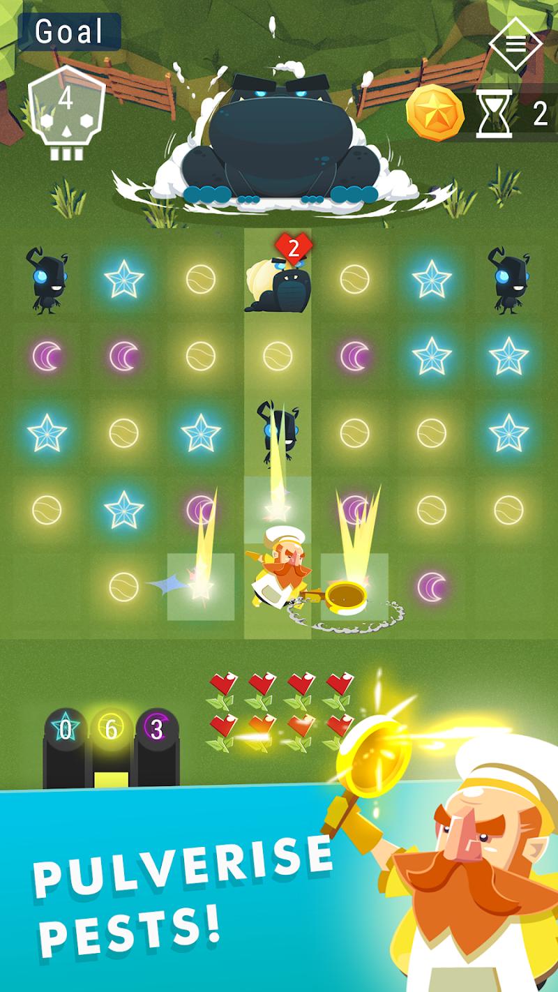 Starbeard - Intergalactic Roguelike puzzle game Screenshot 3