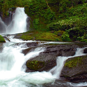 Semetung Waterfall by Enggus Fatriyadi - Landscapes Forests ( landscape & nature, travel )