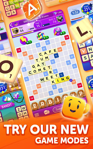 Scrabbleu00ae GO - New Word Game android2mod screenshots 8