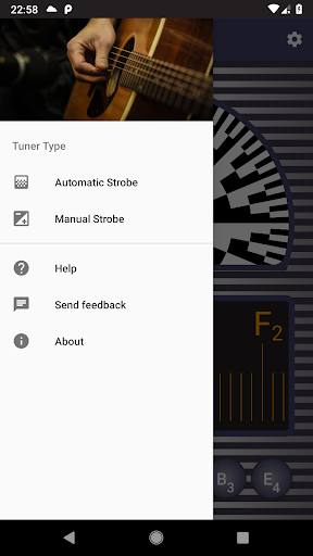 Strobe Guitar Tuner Pro screenshot 5