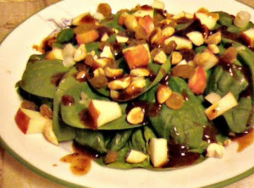 Sue Johnson's Indian Spinach Salad Recipe
