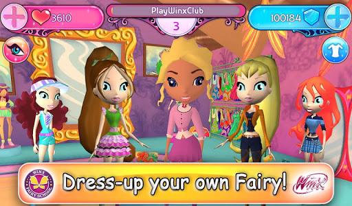 Скачать на андроид winx fairy school.