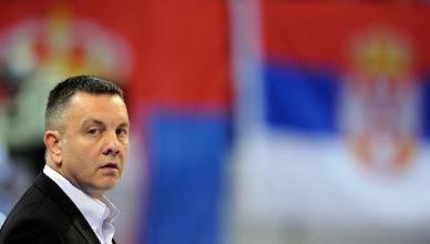 Photo: Serbia coach Igor Kolakovic