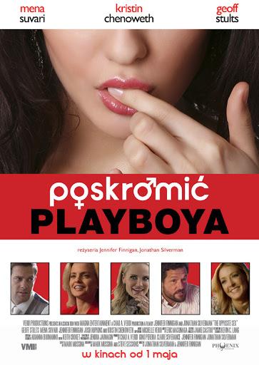 Przód ulotki filmu 'Poskromić Playboya'