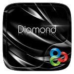 Black Diamond GOLauncher Theme Icon