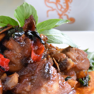 Three Cups Chicken- Easy Taiwanese