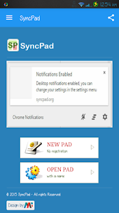 SyncPad: Real-time collaborative documents editor. - náhled