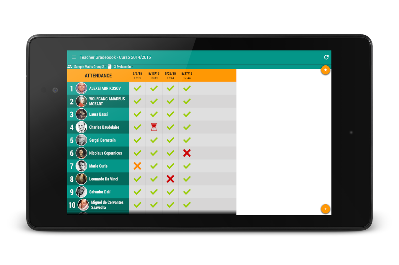 Teacher Gradebook FREE- screenshot