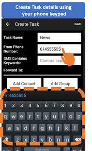 Auto Forward SMS- screenshot thumbnail