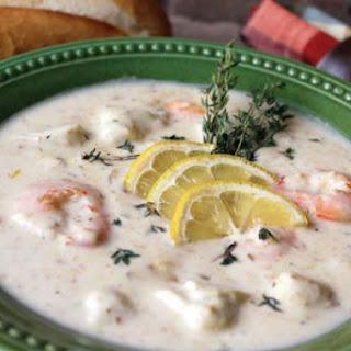 Crab and Shrimp Soup