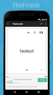 French English Dictionary Screenshot