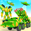 US Army Robot Missile Attack: Truck Robot Games icon