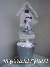 Photo: winter nest, lavoro per rivista milleidee