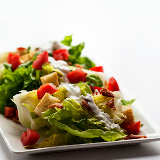 Blue Cheese and Bacon Wedge Salad