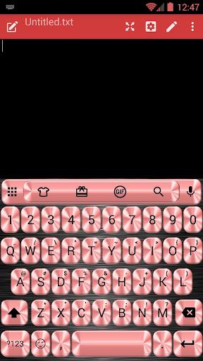 MetalRed Emoji キーボード