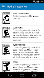 Video Game Ratings by ESRB Screenshot 3