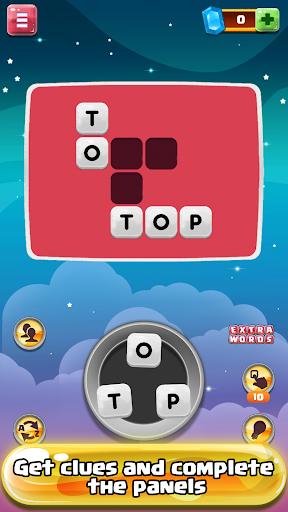 Space Words - Crossword Game 1.02 screenshots 2