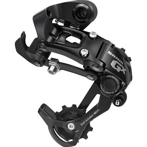 SRAM GX Type 2.1 10-Speed Medium Cage Rear Derailleur Black