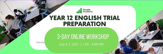 Year 12 English Trial Preparation Workshop (3 day online workshop)