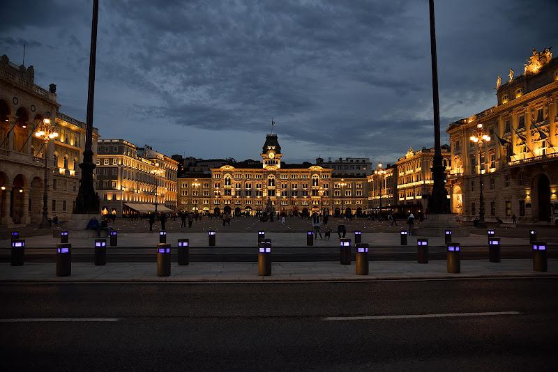 Trieste Piazza Unità d'Italia di Matteo Faliero