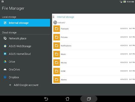 ASUS File Manager 2.0.0.16 screenshot 23020