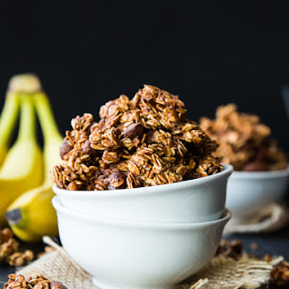Caramelized Banana Nut Granola