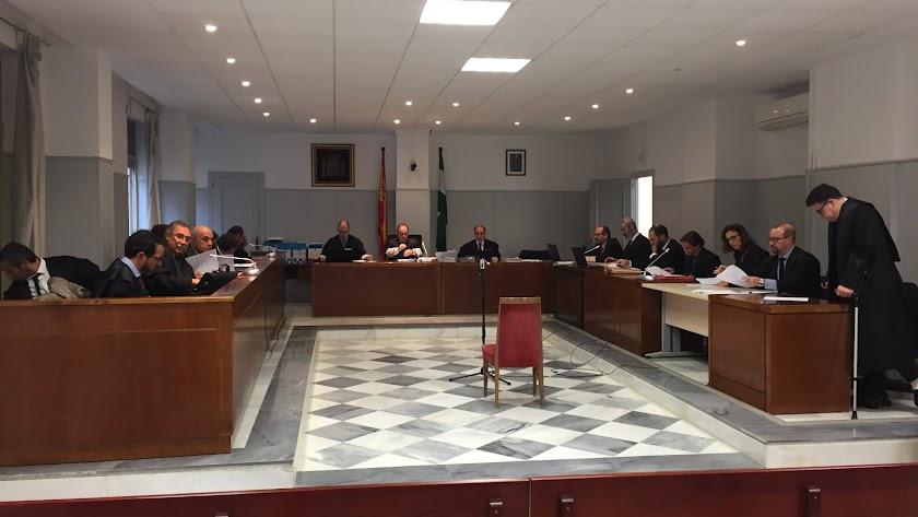 Juicio del Caso Facturas en 2018 en Almería.