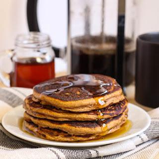 Pumpkin Protein Pancakes.