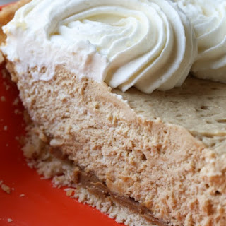 Cookie Butter Pie with Cream Cheese Crust