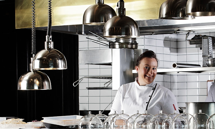 Candice Philip, head chef at Grei restaurant at the Saxon Hotel.