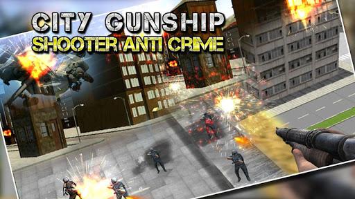 City Gunship Counter Strike 3D