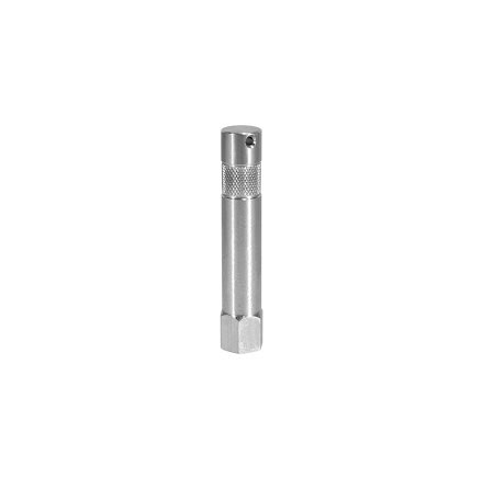 3 in. Aluminum Baby Pin with 3/8 in. Female Thread