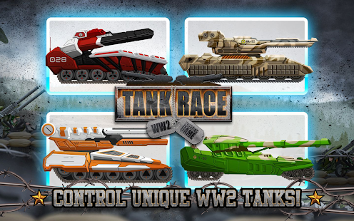 Tank Race: WW2 Shooting Game - náhled