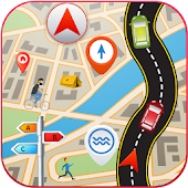 GPS Driving Route Finder
