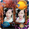 Couple Photo Aquarium Live Wallpaper icon