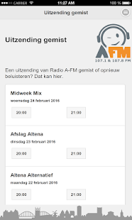 Radio A-FM- screenshot thumbnail