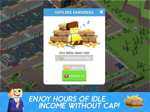 Idle Mechanics Manager u2013 Car Factory Tycoon Game filehippodl screenshot 11