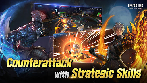 Heroes War: Counterattack screenshots 11