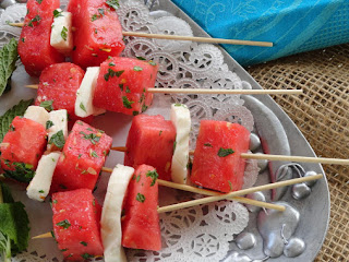 Watermelon Mozzarella Salad - Perfect Treat For Summer Recipe