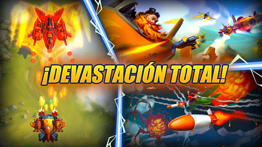 HAWK: Juegos de naves espaciales de guerra screenshot 5